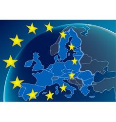 European union countries vector