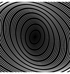 Design uncolored whirlpool circular background vector