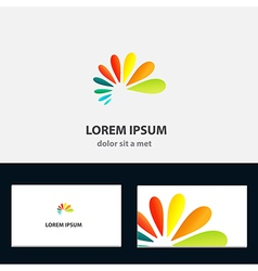 Abstract logo design template for business vector
