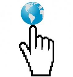 World it is internet vector