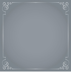 Frame on a gray background vector