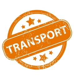 Transport grunge icon vector