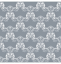 Seamless with damask pattern vector
