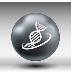 Molecular compound icon icon chemistry vector