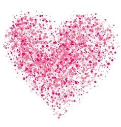 Heart of the spray vector