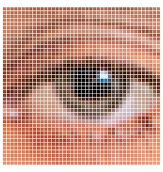 Pixel eye vector