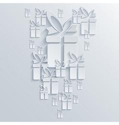 Gift background eps10 vector