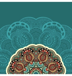 Ornate floral texture with ornaments and curls vector