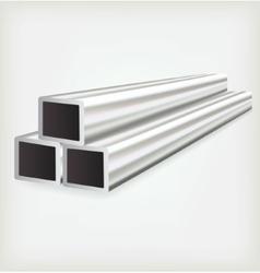 Metal square vector