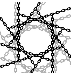 Entangled chains vector