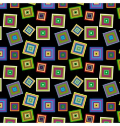 Square colorful pattern vector