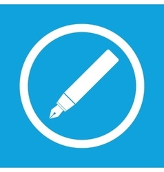 Ink pen sign icon vector