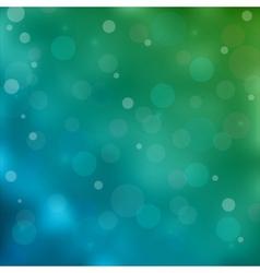 Blue bokeh light background vector