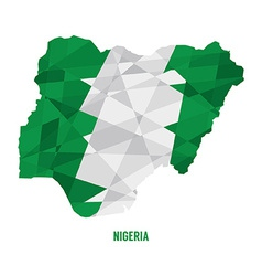 Map of nigeria vector
