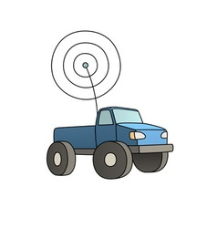 Rc car vector