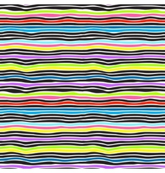 Seamless color stripes background vector