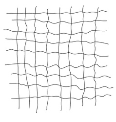 Grid scribble vector
