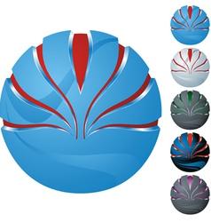 Icon sphere vector