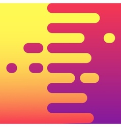 Abstract colorful curve background design vector