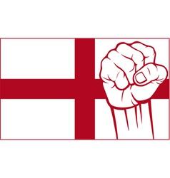 England fist vector