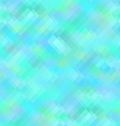 Blue geometric background seamless pattern vector