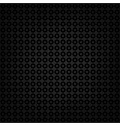 Black metallic texture template vector