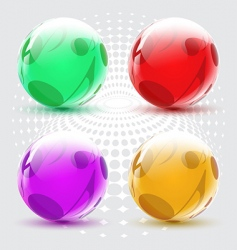 Musical ball vector