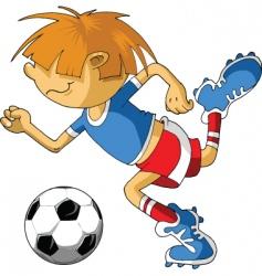 Little soccer vector