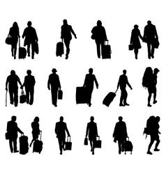 Travelers vector