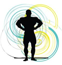 Bodybuilding vector
