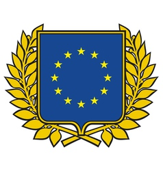 European union emblem vector