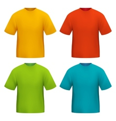 Color tshirt vector