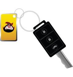 Car key vector