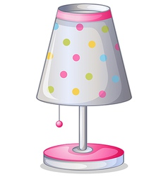 A lampshade vector