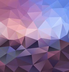 Violet amethyst triangular background vector