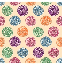 Background color pastel seamless pattern vector
