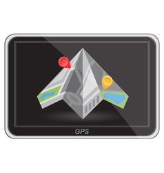 Global positioning system navigation vector