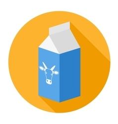 Packagemilk box vector