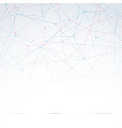 Abstract molecular background abstraction vector