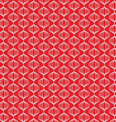 Ornaments on red vector