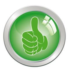 Circle button art vector