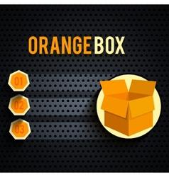 Carton box vector