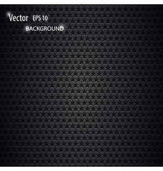 Carbon metallic background vector