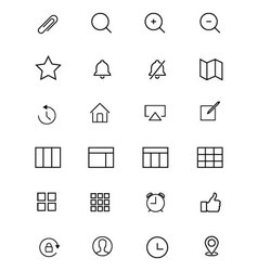 Ios and android icons 6 vector