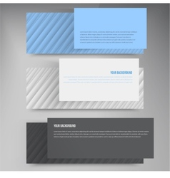 Banners lines color web design vector