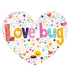 Love bug 2 vector