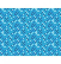 Seamless background of blue squares vector