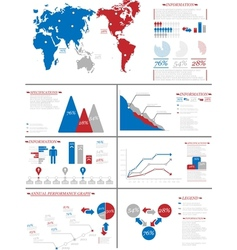 Infographic demographics 7 vector