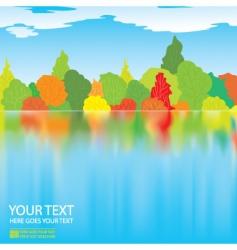 Autumn illustration vector
