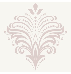 Floral pattern orient abstract ornament vector